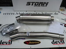 AUSPUFF STORM GP MADE BY MIVV 300 MM KURZ YAMAHA R 6  YZF R6  1999-2002