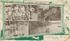 PENNSYLVANIA - CAMP ARCHIBALD - MULTI-VIEW - OLD POSTCARD
