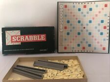 Vintage 1955 Spears Scrabble Board Game Complete Very Good Condition