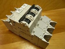 SIEMENS 3 POLE 6A AMP CIRCUIT BREAKER CB, C CURVE, UL 489, 480/277, DIN MOUNT