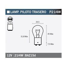 Glühlampe Glühbirne Lampe Leuchtmittel OSRAM 7225 P21/4W 1 Stück