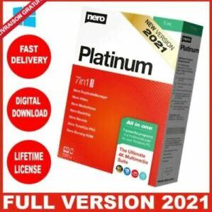 Nero Platinum Suite 2021  ✅LifeTime Global Key instant
