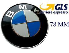 2 fregi BMW ant Ø 82 mm post Ø 78 mm Stemma Logo emblema badge fregio e91 e92
