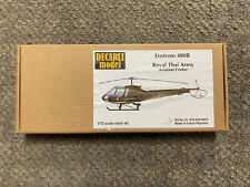 *Decarli Model 1/72 Scale Enstrom 480B Royal Thai Army Resin Model Kit#19 *St