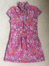 GIRLS PINK Summer Cotton Shirt Dress FAT FACE AGED 6 YEARS