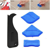 AM_ 4PCS CAULKING TOOL FINISHING JOINT SEALANT SILICONE GROUT REMOVER SCRAPER ST