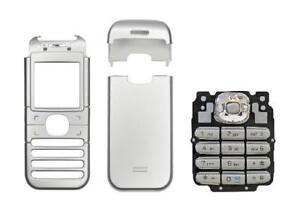 Façade / Coque / Cover (Gris) + Clavier ~ Nokia 6030