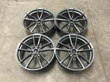 "19"" GOLF R Pretoria Cerchi in lega stile Gloss GUN METAL VW Golf MK5 MK6 MK7"