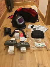 SPEEDGLAS 9100xx Fx WELDING HELMET ,  NEW 3M  ADFLO, 2  HD BATTERYS