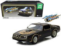 Smokey and the Bandit 1977 Pontiac Trans AM Diecast Car 1:18 Greenlight 10 inch