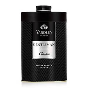 New Yardley London Perfumed Talc Gentleman Talcum Powder For Men 8.8 Oz (250 G)