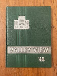 Vintage 1949 Valley View High School Ex Libris Yearbook Sinclairville NY EUC