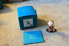 "Wdcc Beauty & The Beast Cogsworth ""Just in Time"" Box & Coa"