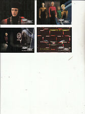 Star Trek:The Next Generation-1994-Skybox-[4 Cards 1,6,9,11 ]-Lot2-Cards