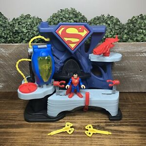 Imaginext - SUPERMAN & ZOD PLAYSET - Fisher Price DC Super Friends Incomplete
