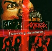 ANTHRAX - FISTFUL OF METAL & ARMED AND DANGEROUS  CD  HARD & HEAVY / METAL  NEU