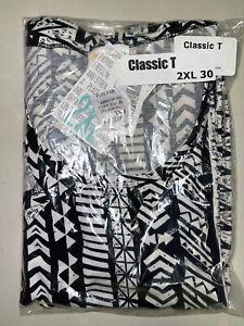 LuLaRoe Classic T Shirt Size 2XL 30