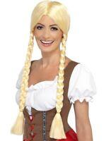 Bavarian Beer Beauty Wig Adult Womens Smiffys Fancy Dress Costume Accessory