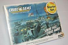 Warlord Games Cruel Seas Miniatures Game Starter Set Strike Fast Hard (xzw)