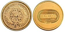 Mexico 3.5 g. .900 GOLD Medal 1968 Olympic Games, in original blister. Scarce.