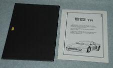 Official Ferrari Press Media Kit Motor Show Los Angeles 1992  654/91 - 2M/06/91