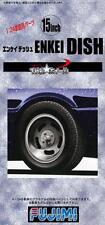 Fujimi Models 1/24 15inch Enkei Dish Wheels & Tyres Set (4 Wheels with Tyres)