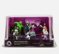 Disney The Nightmare Before Christmas Deluxe 9 PVC Figure Play Set Figurine Cake