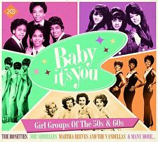 BABY IT'S YOU - 2 CD BOX SET - GIRL GROUPS OF THE 50s & 60s - SHIRELLES & MORE