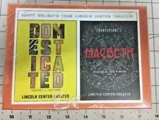 Lincoln Center Theater Puzzle NYC Macbeth Ethan Hawke Domesticated 2013-2014