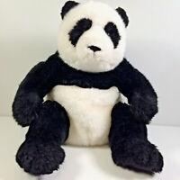 Gund Stuffed Plush Toy Panda Li Ming 31064 Black White Super Soft Beanie Bottom