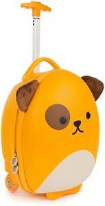 boppi Cabin Bag Holiday Childrens Roller Luggage Light Kids Travel Case DOGGY