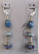 Fabric Mixed Metals Beauty Costume Earrings