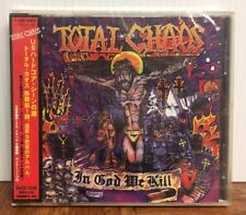 Total Chaos - In God We Kill Japan Import CD Zain Records ZACB1034  PUNK ROCK