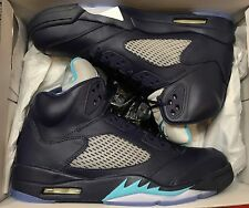 Jordan Retro V Hornets 5 Midnight Navy Blue White Grape 136027-405 Sz 12