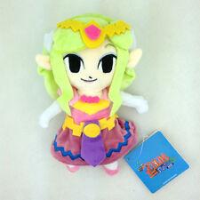 "The Legend of Zelda Wind Waker Princess Nintendo Stuffed Animal Plush Toy New 7"""