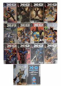 X-O Manowar Vol 3 #1,2,3,4,5,6,7,8,9,10,11,12,13 & 14 8-bit (14 Books) 2013 Lot