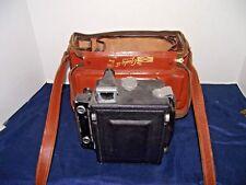 Vintage Graphex Kalart Synchronized Range Finder w/ Diamond Gadget Camera Bag
