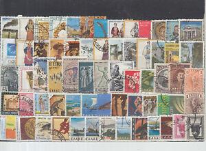 Schönes Lot Briefmarken aus Griechenland gestempelt ohne Euro Marken