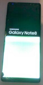 [BROKEN] Samsung Galaxy Note8 SM-N950U - 64GB (Unknown) Parts Repair Bad LCD