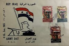 Iraq Stamps-FDC-1965-Army Day-you Chose One Out Of For-Complete Set Of 3 Stamps