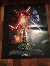 Star Wars LEGO - Poster FORCE AWAKENS Episode VII 60X42cm A2 Promo Double Sided