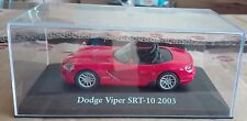 "DIE CAST "" DODGE VIPER SRT-10 2003 "" SCALA 1/43 ATLAS EDITION"
