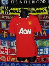 4/5 Manchester United adults M 2011 home football shirt jersey trikot soccer