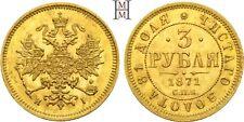 HMM - Rußland Alexander II. 1855-1881 3 Rubel 1871 PCGS MS64 - 151221006