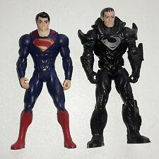 DC Comics Actionfiguren Superman & General Zod - Mattel 2013 / Sammlung
