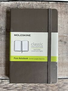 Moleskine Earth Brown Hard Cover Classic Collection Notebook 9x14cm (RRP £14)