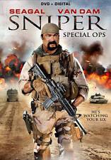 SNIPER: Special Ops DVD-Steven Seagal-Rob an Dam-Tim Abell-Dale Dye