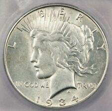 1934-S Peace Dollar ICG AU55