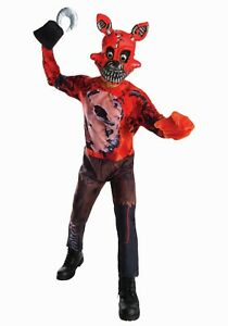 Kids Five Nights at Freddy's Nightmare Foxy Costume SIZE L (with defect)
