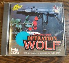 Operation Wolf PC Engine HuCard Japanese Retro Import